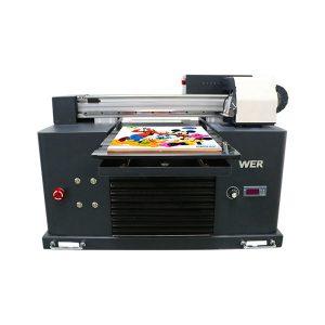 panas sale a3 dx5 kepala digital t-shirt uv flatbed printing machine