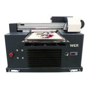 a4 flatbed dtg langsung ke printer tekstil mesin cetak t-shirt