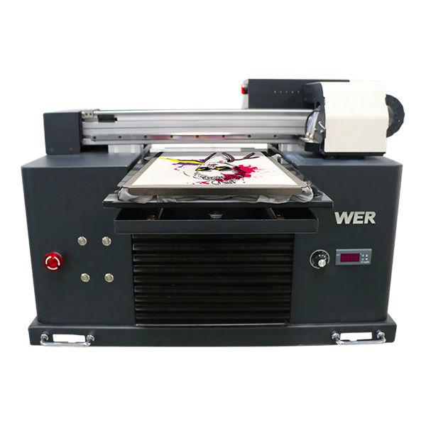 a3 ukuran multi-warna flat bed type t-shirt dtg printer