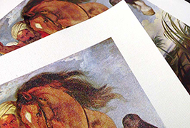 Oil Canvas dicithak kanthi printer eco solvent 2.5m (8 kaki) WER-ES2501